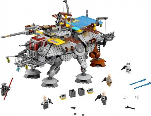 Конструктор Lego Star Wars Шагающий штурмовой вездеход AT-TE капитана Рекса 972 элемента 75157