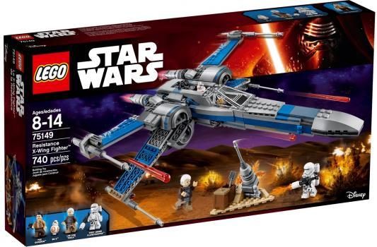Конструктор Lego Star Wars Истребитель Сопротивления типа Икс 740 элементов 75149
