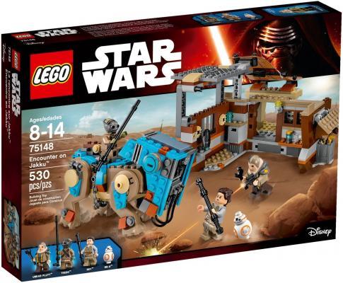 Конструктор Lego Star Wars Столкновение на Джакку 530 элементов 75148