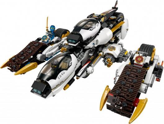 Конструктор Lego Ninjago Внедорожник с суперсистемой маскировки 1093 элемента