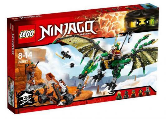 Конструктор Lego Ninjago: Зелёный Дракон 567 элементов