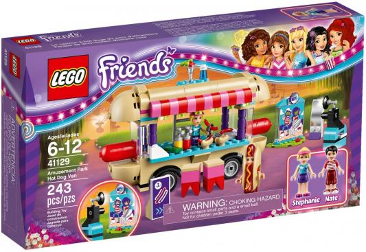 Конструктор LEGO Friends - Парк развлечений: фургон с хот-догами 243 элемента
