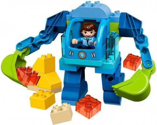 Конструктор Lego Duplo: Экзокостюм Майлза 37 элементов 10825