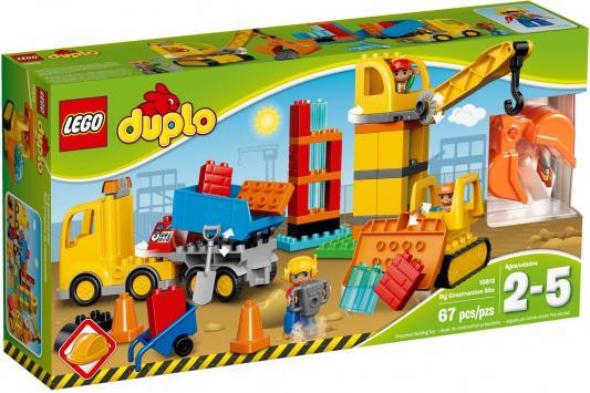 Конструктор Lego Duplo: Большая стройплощадка 67 элементов 10813