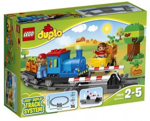 Конструктор LEGO Duplo: Локомотив 45 элементов 10810 конструктор lego duplo лошадки 20 элементов 10806