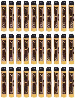 Набор стрел для бластеров Nerf Думлэндс 30 стрел желтый