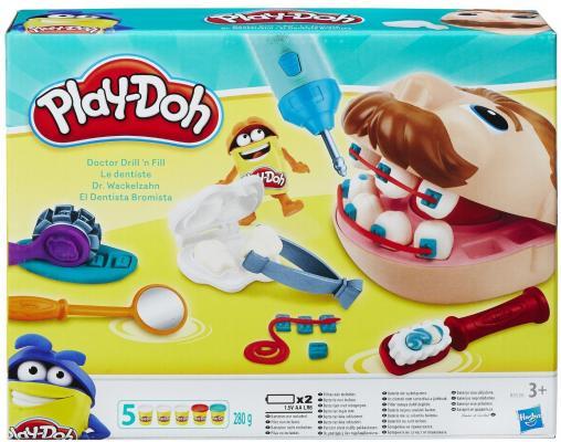 Набор пластилина Hasbro Play-Doh Мистер Зубастик B5520EU4 набор для лепки мистер зубастик play doh
