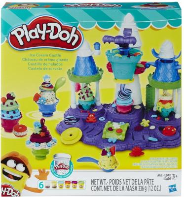 Набор для творчества Hasbro Play-Doh Замок мороженого B5523 play doh набор чудесный замок авроры play doh hasbro a6881