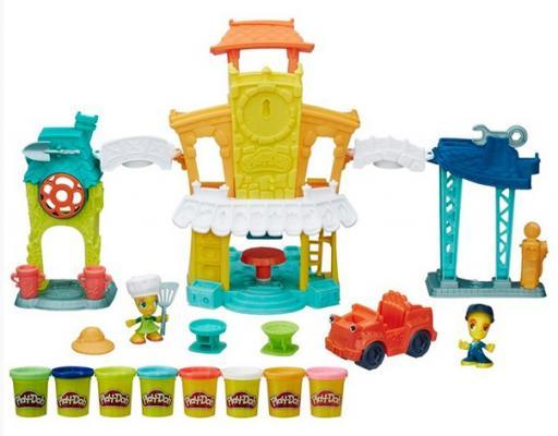 Набор для творчества Play-Doh Город: Главная улица hasbro play doh игровой набор из 3 цветов цвета в ассортименте с 2 лет