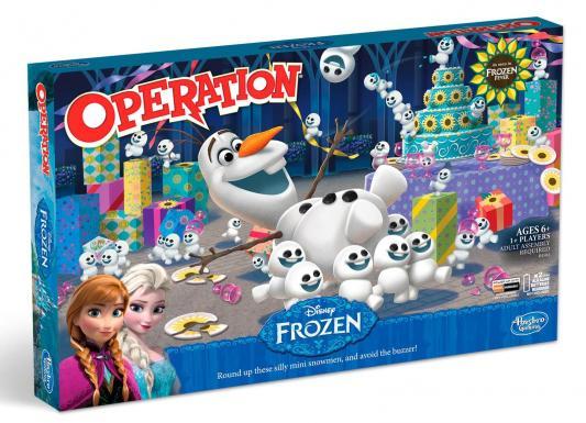 """Напольная игра Hasbro семейная Операция """"Холодное сердце"""" (обновленная версия) 1110459"""