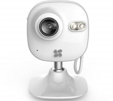 Камера IP EZVIZ C2mini CMOS 1/3'' 1280 x 960 H.264 RJ-45 LAN Wi-Fi белый CS-C2mini-31WFR 940 0 3 mp 1 3 cmos network ip camera w 2 0 lcd time display black 1 x 18650