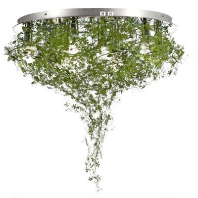 Потолочный светильник Luce Solara Natura 9010/9PL Green потолочный светильник moderno 3022 4p green luce solara 1143613