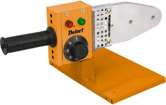 Аппарат сварочный Defort DWP-1000 для сварки пластиковых труб 98291759