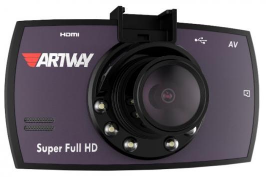 """Видеорегистратор Artway 700 3"""" 2304x1296 170° microSD microSDHC датчик движения USB"""