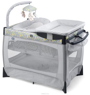 Кровать-манеж Chicco Lullaby (silver)