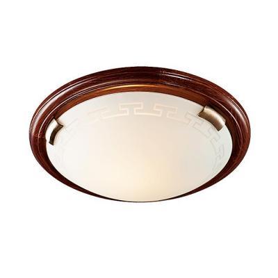 Потолочный светильник Sonex Greca Wood 160/K настенно потолочный светильник sonex greca wood 160 k