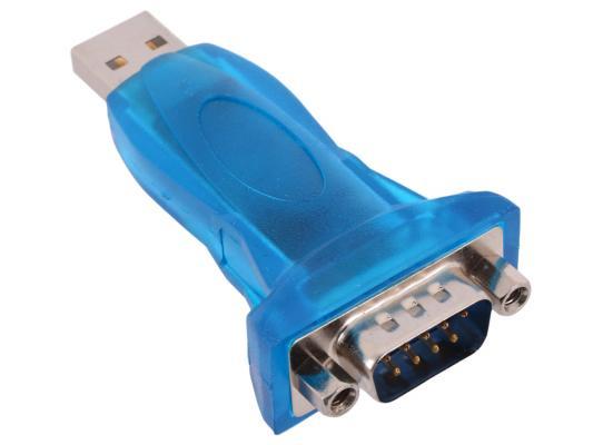 Переходник USB AM - RS232 DB9M крепеж разъема гайки ORIENT UAS-012 orient am to rs232 db9m uas 012