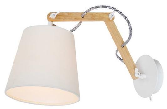 Спот Arte Lamp Pinoccio A5700AP-1WH бра artelamp pinoccio a5700ap 1wh
