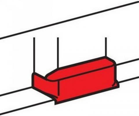 Т-отвод для кабель-канала Legrand 40x16 белый 30207
