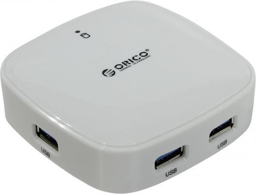 Концентратор USB 3.0 Orico H4818-U3-WH 4 х USB 3.0 белый