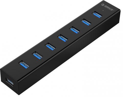 Концентратор USB 3.0 Orico H7013-U3-BK 7 x USB 3.0 черный