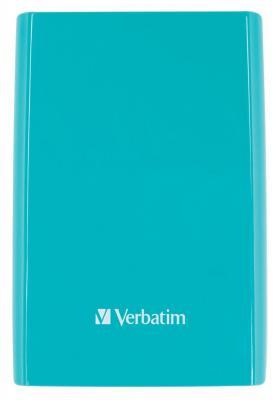 "Внешний жесткий диск 2.5"" USB3.0 500 Gb  Verbatim Store'n'Go 53172 синий"