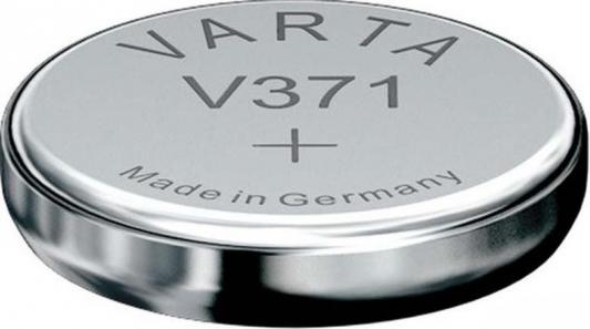 Батарейка Varta SR920SW SR69 V 371 1 шт 31709 батарейка varta v 371 sr69 1 шт