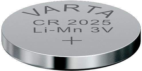 Батарейки Varta Electronics CR2025 5 шт