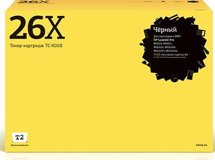 Картридж T2 CF226X для HP LaserJet Pro M402d/M402n/M402dn/M426dw/M426fdn/M426fdw черный 9000стр ТС-Н26Х cnd vinylux цвет 122 lobster roll