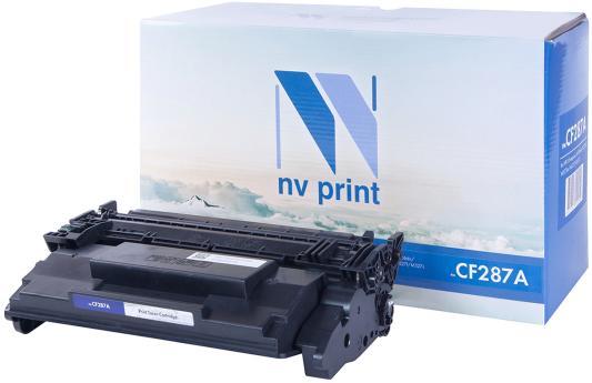 Картридж NV-Print CF287A для HP LJ M506dn/M506x/M527dn/M527f/M527c черный 9000стр nv print nv hp lj p1005 black тонер для лазерных картриджей hp lj p1005