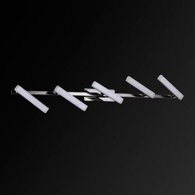 Спот IDLamp Roberta Black 406/5PF-Blackchrome спот idlamp 406 406 1a blackchrome