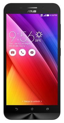 "Смартфон ASUS ZenFone 2 Max ZC550KL черный 5.5"" 32 Гб LTE Wi-Fi GPS 3G 90AX0105-M01770"