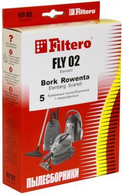 Пылесборник Filtero FLY 02 Standard двухслойные 5 шт + 1 фильтр цена