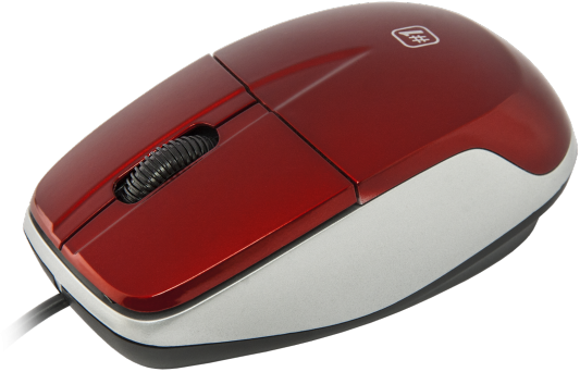 Мышь проводная DEFENDER MS-940 красный USB