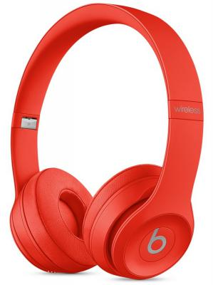 Наушники Apple Beats Solo2 Wireless Headphones красный MHNJ2ZE/A