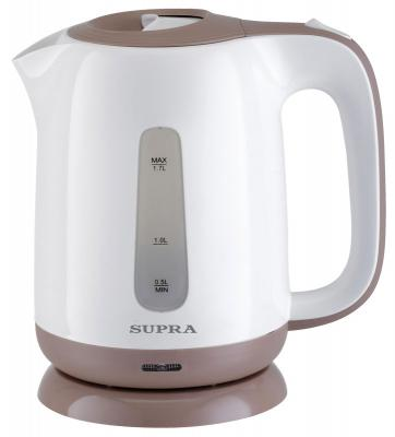 Чайник Supra KES-1724 2200 Вт белый бежевый 1.7 л пластик