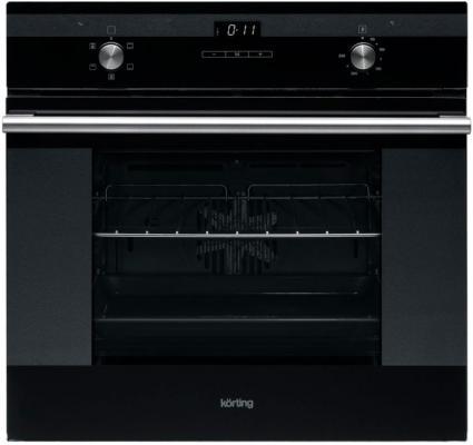 Электрический шкаф Korting OKB 760 FN черный духовой шкаф korting okb 760 fn