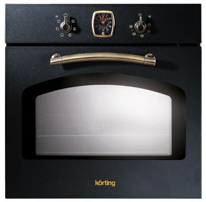 Электрический шкаф Korting OKB 460 RN черный + бронза korting khc6957x