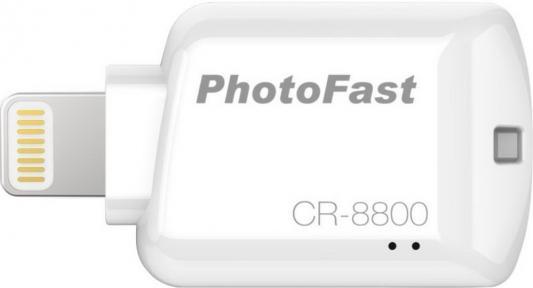 Картридер внешний PhotoFast iOS Card Reader CR-8800 белый