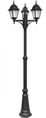 все цены на Садово-парковый светильник Arte Lamp Bremen A1017PA-3BK