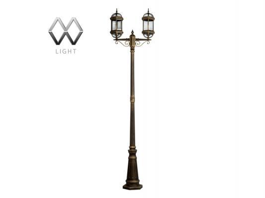 Садово-парковый светильник MW-Light Плимут 816040602