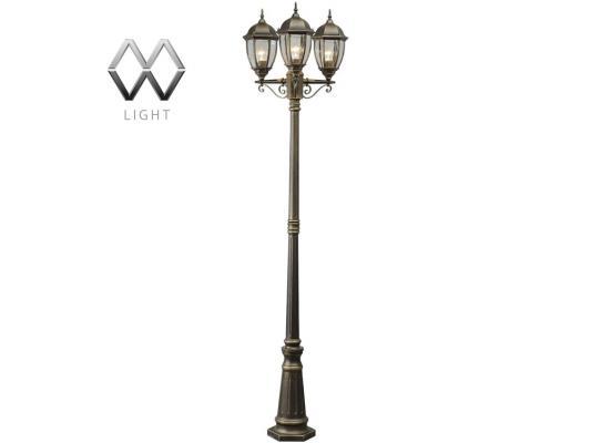 Садово-парковый светильник MW-Light Фабур 804040703 садово парковый mw light ластер 1 817040301