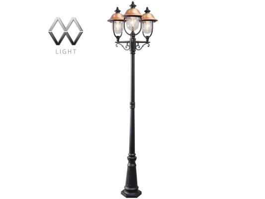 Садово-парковый светильник MW-Light Дубай 805040702 mw light садово парковый светильник mw light сандра 811040703