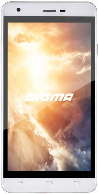 Смартфон Digma Vox S501 3G белый 5 4 Гб Wi-Fi GPS 3G VS5002PG планшет digma plane 1601 3g ps1060mg black