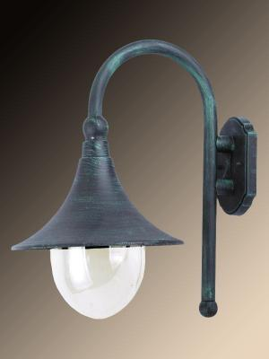 Уличный настенный светильник Arte Lamp Malaga A1082AL-1BG светильник уличный arte lamp malaga a1086pa 1bg