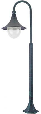 Уличный светильник Arte Lamp Malaga A1086PA-1BG фонарь arte lamp malaga a1086pa 2bg