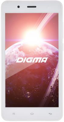 "Смартфон Digma Linx C500 3G белый 5"" 4 Гб Wi-Fi GPS LT5001PG"
