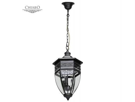 Уличный подвесной светильник Chiaro Корсо 801010403 chiaro уличный светильник корсо