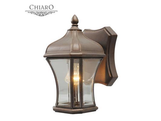 Уличный настенный светильник Chiaro Шато 800020101