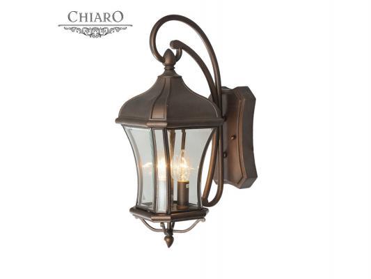 Уличный настенный светильник Chiaro Шато 800020303